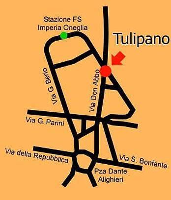 Tulipano arredamenti dove siamo for Doria arredamenti